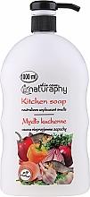 "Fragrances, Perfumes, Cosmetics Hand Liquid Soap ""Kitchen"" - Bluxcosmetics Naturaphy Hand Soap"