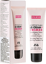 Fragrances, Perfumes, Cosmetics Moisturizing & Soothing BB Cream + Primer - Pupa BB Cream + Primer For Combination To Oily Skin