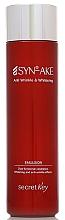 Fragrances, Perfumes, Cosmetics Anti-Aging Face Emulsion - Secret Key SYN-AKE Anti Wrinkle & Whitening Emulsion