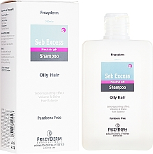 Fragrances, Perfumes, Cosmetics Sebo-Regulating Shampoo for Oily Hair - Frezyderm Seb Excess Shampoo