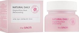 Fragrances, Perfumes, Cosmetics Moisturizing Rose Petals Mask - The Saem Natural Daily Original Rose Mask