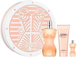 Fragrances, Perfumes, Cosmetics Jean Paul Gaultier Classique - Set (edt/100ml + b/lot/75ml + edt/5ml)
