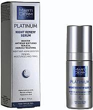 Fragrances, Perfumes, Cosmetics Renewal Night Serum - MartiDerm Platinum Night Renew Serum