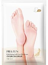 Fragrances, Perfumes, Cosmetics Exfoliating Foot Mask - Pilaten Exfoliating Soft Foot
