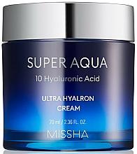 Fragrances, Perfumes, Cosmetics Moisturizing Face Cream - Missha Super Aqua Ultra Hyalron Cream
