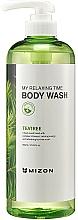 Fragrances, Perfumes, Cosmetics Moisturizing Shower Gel - Mizon My Relaxing Time Body Wash