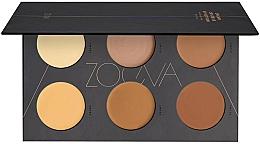 Fragrances, Perfumes, Cosmetics Creamy Contour Palette - Zoeva Cream Contour Spectrum Palette