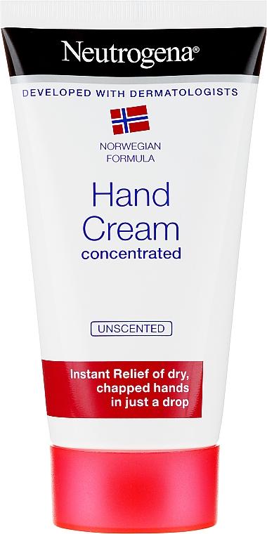 Concentrated Hand Cream - Neutrogena Norwegian Formula Concentrated Unscented Hand Cream