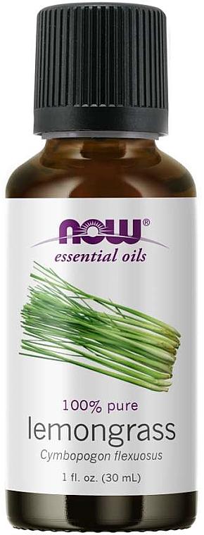 Lemongrass Essential Oil - Now Foods Essential Oils 100% Pure Lemongrass