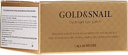 Fragrances, Perfumes, Cosmetics Gold and Snail Hydrogel Eye Patch - Petitfee & Koelf Gold & Snail Hydrogel Eye Patch
