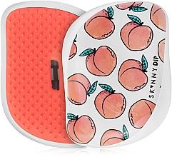 Fragrances, Perfumes, Cosmetics Hair Brush - Tangle Teezer Compact Styler Cheeky Peach