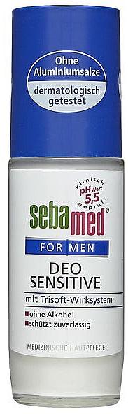 Roll-On Balm Deodorant - Sebamed For Men Deo Sensitive Roll-On