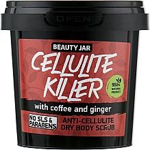Fragrances, Perfumes, Cosmetics Cellulite Killer Anticellulite Body Scrub - Beauty Jar Anti-Cellulite Dry Body Scrub
