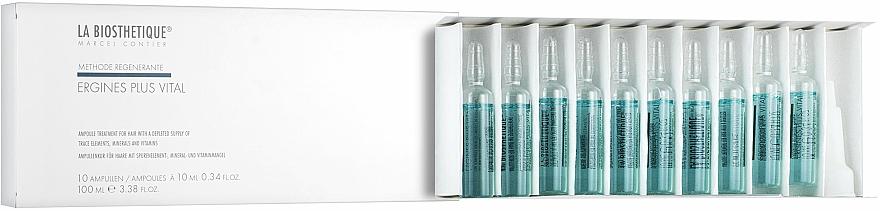 Nourishing Strengthening Hair Serum - La Biosthetique Ergines Plus Vital