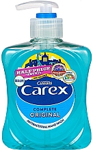 Fragrances, Perfumes, Cosmetics Antibacterial Liquid Soap - Carex Pure Blue Hand Wash