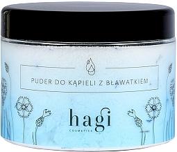 Fragrances, Perfumes, Cosmetics Bath Powder with Cornflower - Hagi Bath Puder