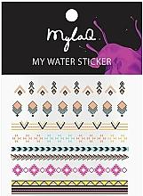 Fragrances, Perfumes, Cosmetics Aztecs Nail Stickers - MylaQ My Aztek Sticker