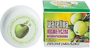 "Lip Vaseline ""Green Apple"" - Kosmed Flavored Jelly Green Apple"