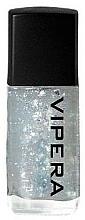 Fragrances, Perfumes, Cosmetics Nail Top Coat with Particles - Vipera Top Coat Metal Effect