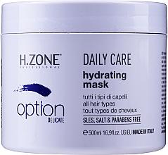 Fragrances, Perfumes, Cosmetics Daily Moisturizing Mask - H.Zone Option Daily Care Hydrating Mask