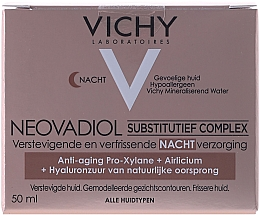 Fragrances, Perfumes, Cosmetics Compensating Anti-Age Night Cream for All Skin Types - Vichy