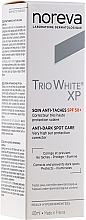 Fragrances, Perfumes, Cosmetics Anti-Age Spots Cream - Noreva Laboratoires Trio White XP Anti-Dark Spot Care SPF 50+