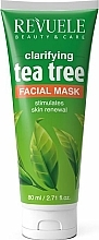 Fragrances, Perfumes, Cosmetics Cleansing Face Mask - Revuele Tea Tree Clarifying Facial Mask