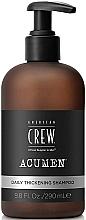 Fragrances, Perfumes, Cosmetics Thickening Hair Shampoo - American Crew Acumen Daily Thickening Shampoo