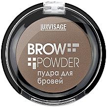 Fragrances, Perfumes, Cosmetics Brow Powder - Luxvisage Brow Powder