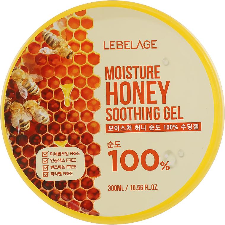 Moisturizing Honey Gel - Lebelage Moisture Honey 100% Soothing Gel