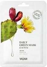 "Fragrances, Perfumes, Cosmetics Daily Mask ""Cactus"" - Yadah Daily Green Mask Cactus"