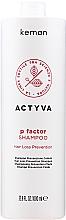 Fragrances, Perfumes, Cosmetics Anti Hair Loss Shampoo - Kemon Actyva P Factor Shampoo