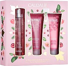 Fragrances, Perfumes, Cosmetics Caudalie Rose De Vigne - Set (edt/50ml + sh/gel/50ml + lot/50ml)