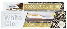 Fragrances, Perfumes, Cosmetics Set - White Glo Coconut Oil Shine (toothpaste/120ml + toothbrush)
