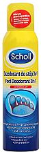 Fragrances, Perfumes, Cosmetics Foot Antiperspirant Deodorant - Scholl 3in1 Antiperspirant