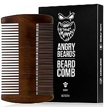 Fragrances, Perfumes, Cosmetics Wooden Beard Comb - Angry Beards Beard Comb