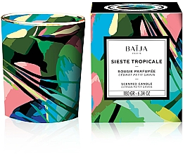 Fragrances, Perfumes, Cosmetics Scented Candle - Baija Sieste Tropicale Scented Candle