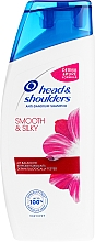 "Fragrances, Perfumes, Cosmetics Anti-Dandruff 2-in-1 Shampoo ""Smooth & Sleek"" - Head & Shoulders 2 in 1 Smooth & Silky"