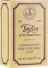 Fragrances, Perfumes, Cosmetics Sandalwood Soap - Taylor of Old Bond Street Sandalwood Soap