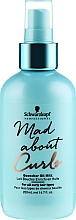 Fragrances, Perfumes, Cosmetics Hair Oil Milk - Schwarzkopf Professional Mad About Curls Quencher Oil Milk