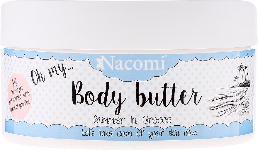 Grape Seed & Shea Body Butter - Nacomi Body Butter Summer in Creece