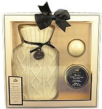 Fragrances, Perfumes, Cosmetics Set - Style & Grace Signature Hot Water Bottle Home Comfort Gift Set (b/butter/120ml+bath/fizzer/50g+acc/1pc)