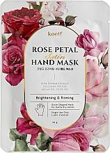 Fragrances, Perfumes, Cosmetics Firming Hand Mask Gloves - Petitfee&Koelf Rose Petal Satin Hand Mask