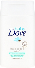 Fragrances, Perfumes, Cosmetics Body and Hair Emulsion - Dove Baby Sensitive Moisture Head To Toe Wash