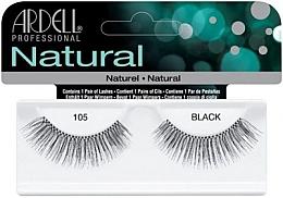 Fragrances, Perfumes, Cosmetics False Lashes - Ardell Natural Lashes Black 105