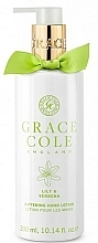 Fragrances, Perfumes, Cosmetics Hand Lotion - Grace Cole Lily & Verbena Hand Lotion