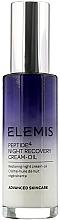 Fragrances, Perfumes, Cosmetics Night Face Serum - Elemis Peptide4 Night Recovery Cream-Oil