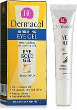 Fragrances, Perfumes, Cosmetics Eyelid Gel from Dark Circles Under Eyes - Dermacol Eye Gold Gel