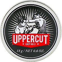 Fragrances, Perfumes, Cosmetics Hair Styling Cream - Uppercut Deluxe Barbers Collection Easy Hold (mini size)