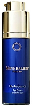 Fragrances, Perfumes, Cosmetics Eye Care Cream - Mineralium Hydra Source Eye Cream